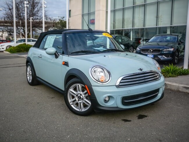Used 2012 MINI Cooper Base Convertible WMWZN3C54CT134608 For Sale San Leandro, CA
