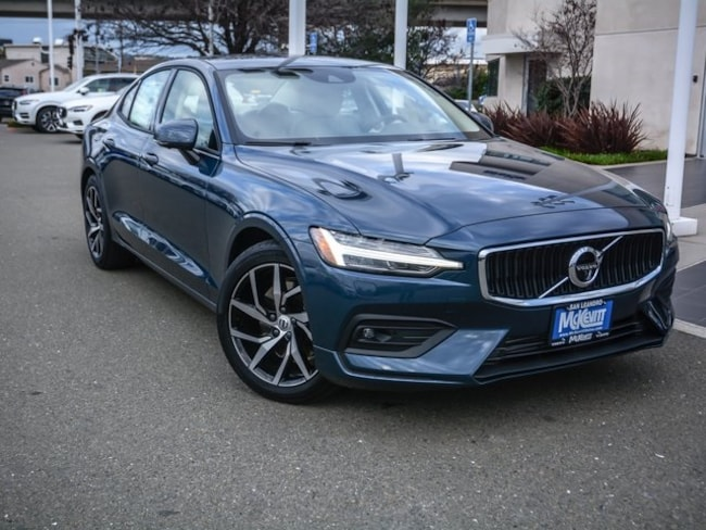 New 2019 Volvo S60 T5 Momentum Sedan 7JR102FK6KG006003 For Sale/Lease San Leandro, CA