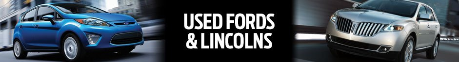 Used Ford and Lincoln Vehicles at McKie