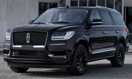 2020 Lincoln Navigator black exterior color