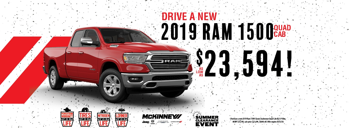 McKinney Dodge RAM Chrysler Jeep | New and Used Cars | Easley, SC