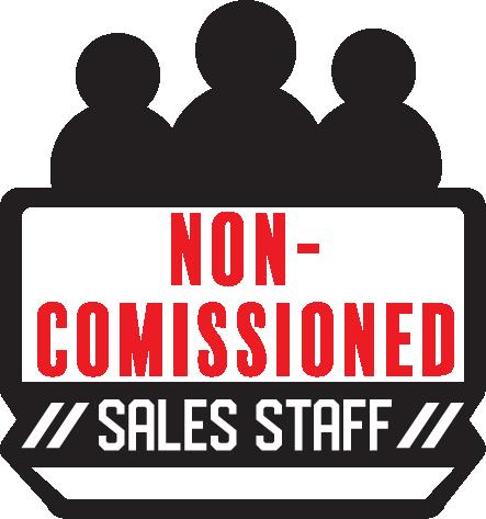 Non-Comissioned Sales Staff