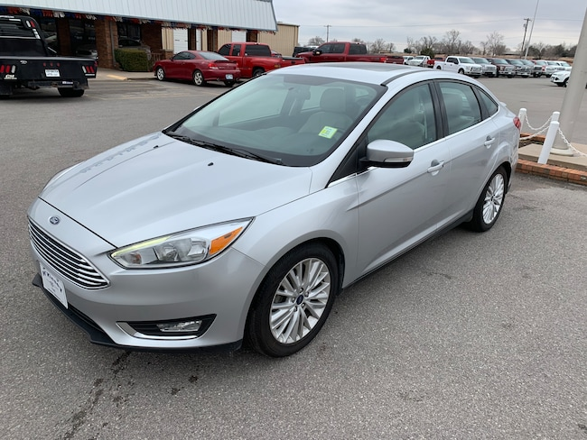 2017 Ford Focus Titanium Sedan