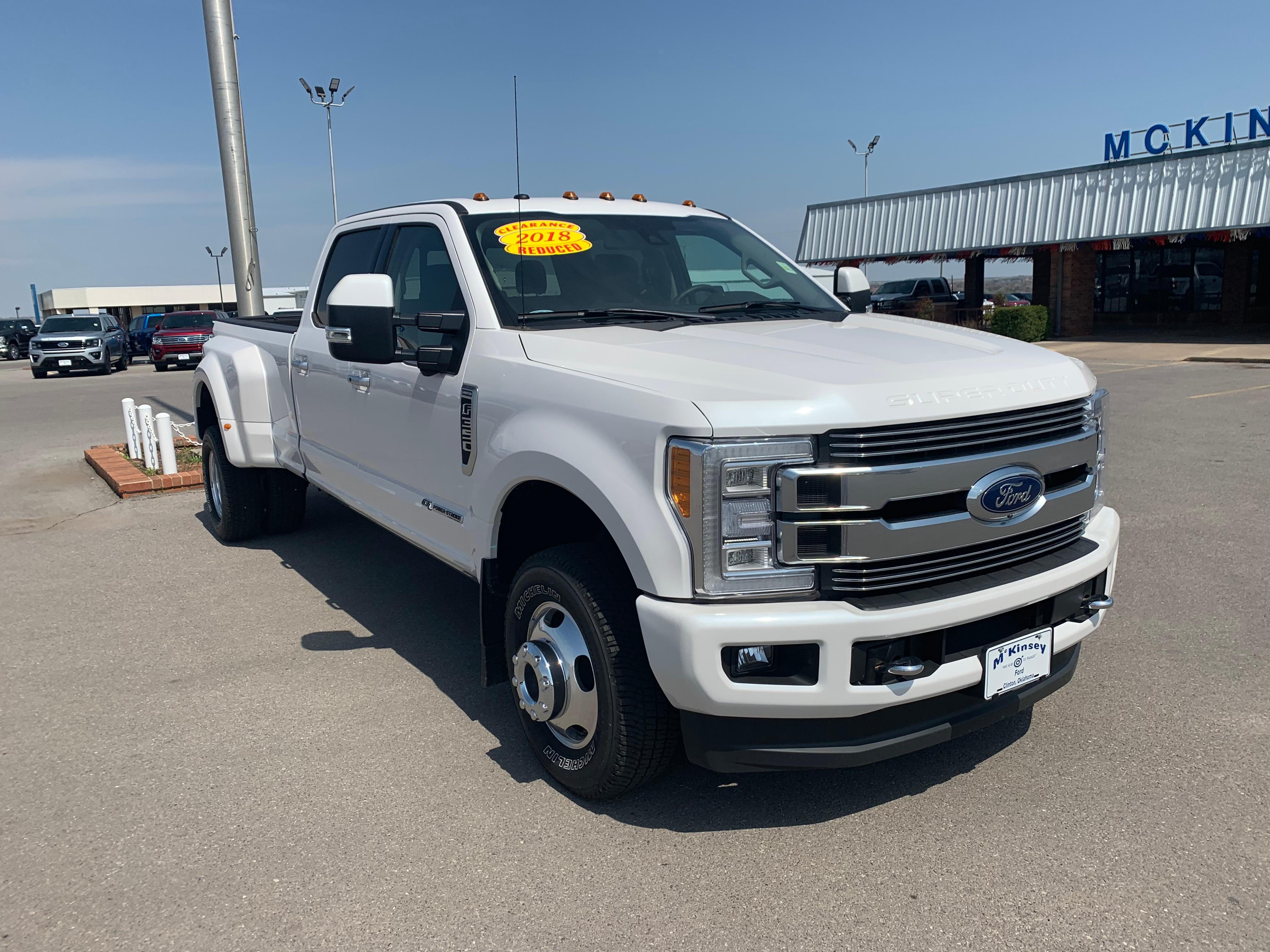 2018 Ford F-350 F-350 Limited Truck Crew Cab