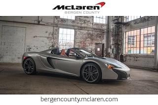 2016 McLaren 650S Spider Spider Convertible