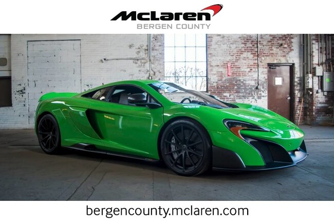 2016 McLaren 675LT 675LT Coupe