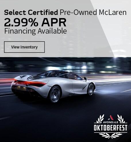 McLaren Certified 2.99% APR
