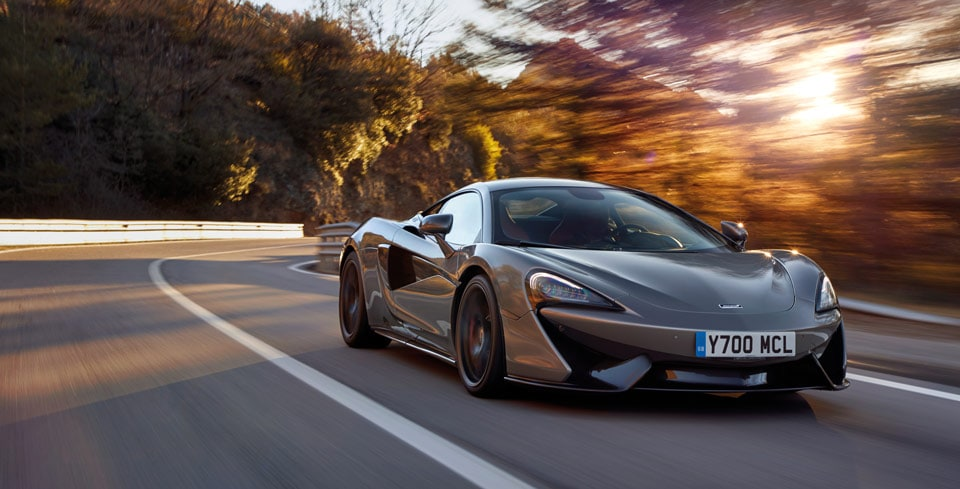 New McLaren 570S Coupe Performance