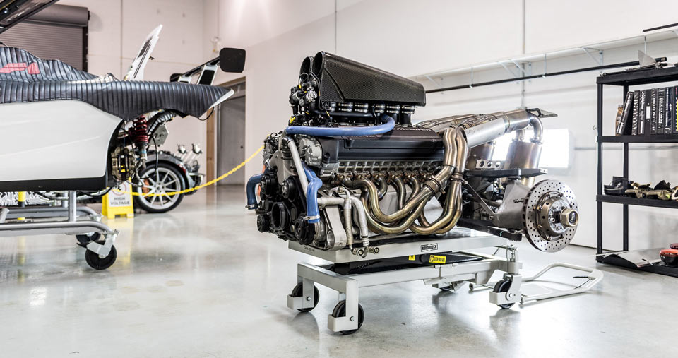 McLaren F1 Engine Service at McLaren Philadelphia