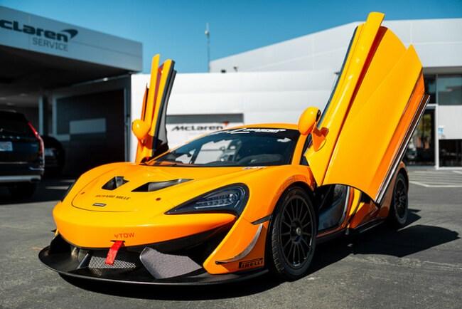 2018 McLaren 570S GT4 Coupe