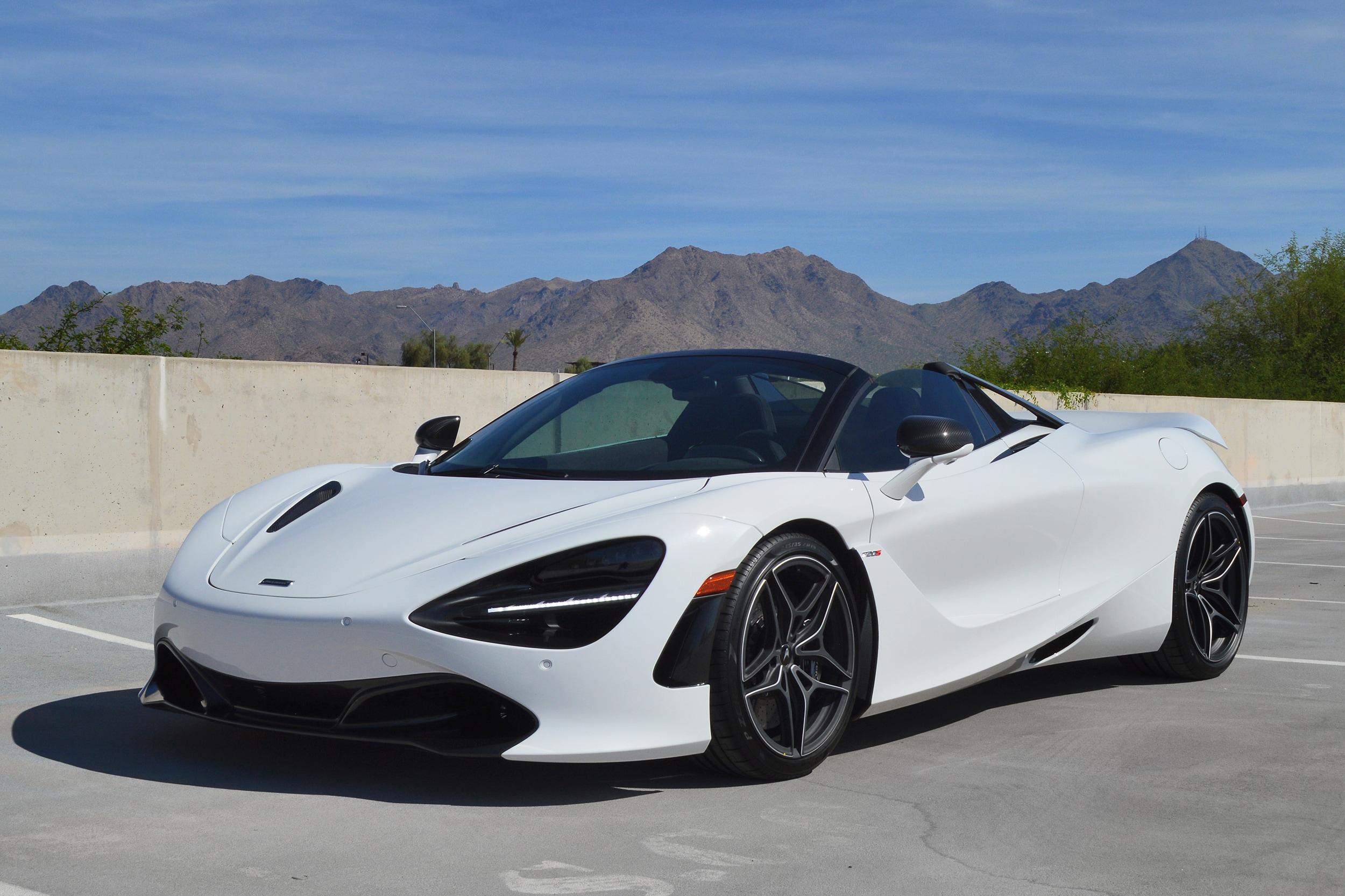 2020 McLaren 720S Spider Performance Convertible