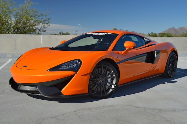 Certified Pre-Owned 2017 McLaren 570S Coupe For Sale Scottsdale, AZ