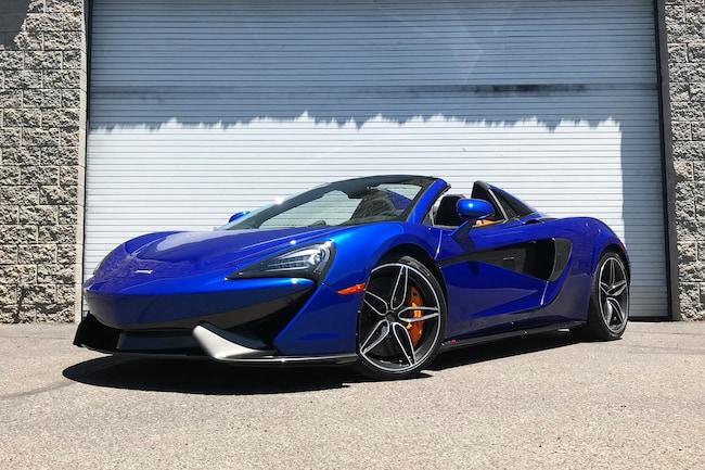 Used 2018 McLaren 570S Spider Convertible For Sale Scottsdale, AZ