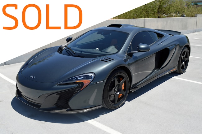 Used 2015 McLaren 650S Le Mans Coupe For Sale Scottsdale, AZ