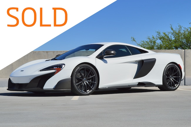 Certified Pre-Owned 2016 McLaren 675LT Coupe For Sale Scottsdale, AZ