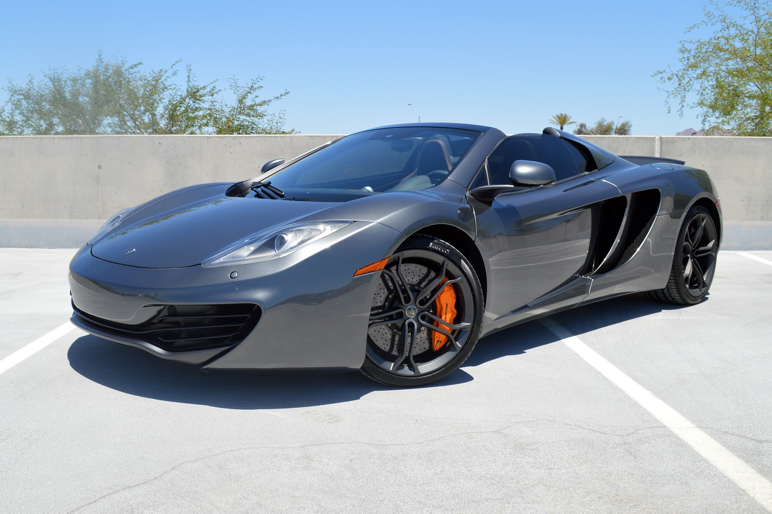 Lovely Certified Pre Owned 2014 McLaren MP4 12C Spider Convertible For Sale  Scottsdale, AZ