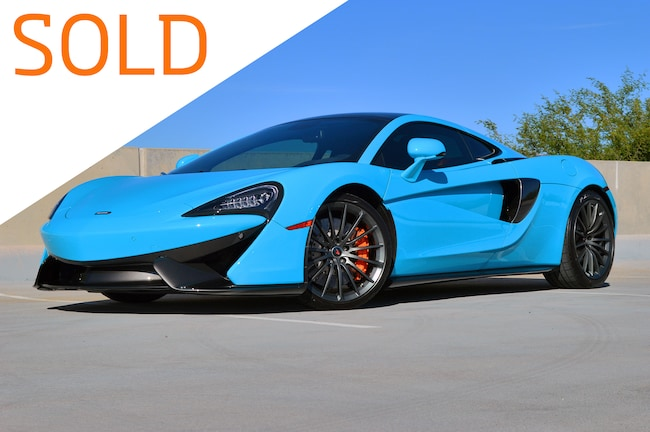 Certified Pre-Owned 2017 McLaren 570GT Coupe For Sale Scottsdale, AZ