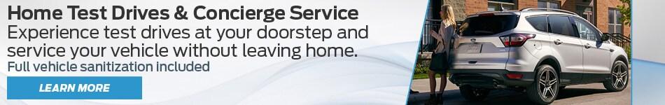 Home Test Drives & Concierge Service