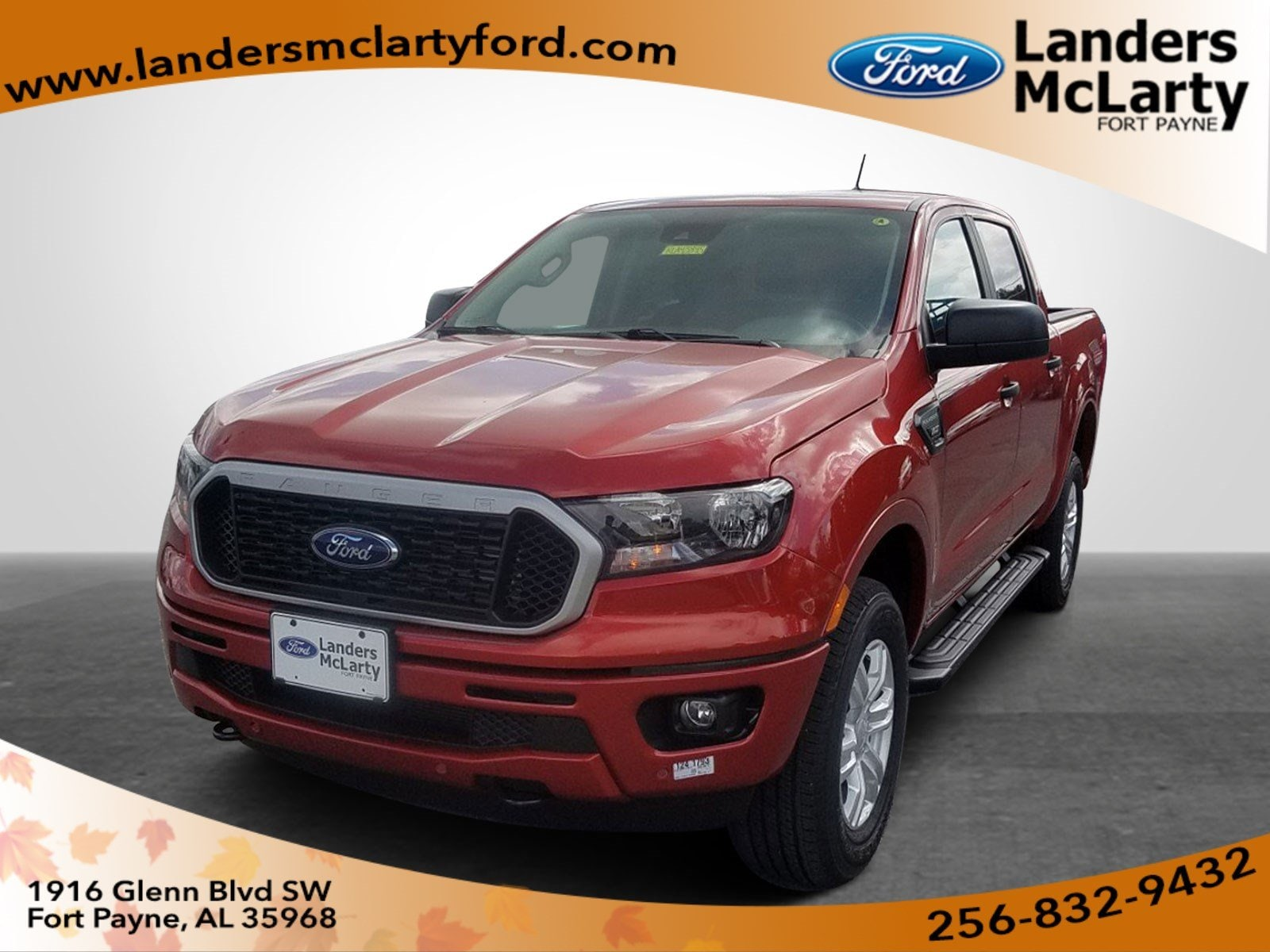 Landers Mclarty Ford >> New 2019 Ford Ranger For Sale At Landers Mclarty Ford Of Fort Payne