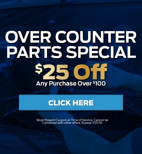 June Over Counter Parts Special