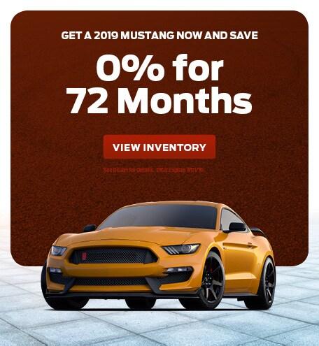 June 2019 Mustang Offer
