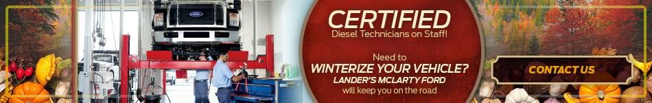Certified Diesel Technicians on Staff!