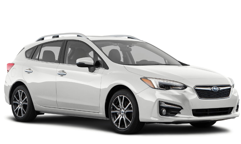 2020 Subaru Impreza Limited 5 door in white