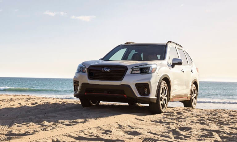 2021 Subaru Forester exterior on beach