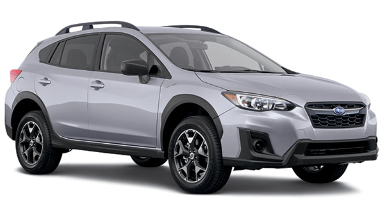 2020 Subaru Crosstrek in Silver