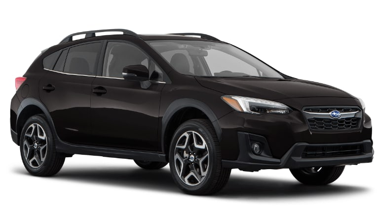 2020 Subaru Crosstrek Limited in black