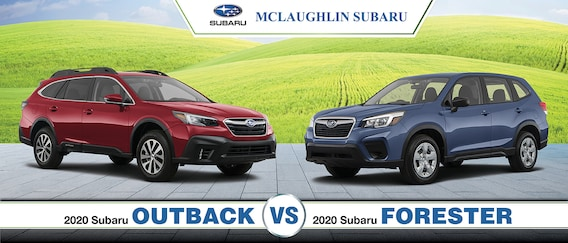 Forester Vs Outback >> 2020 Subaru Outback Vs 2020 Subaru Forester