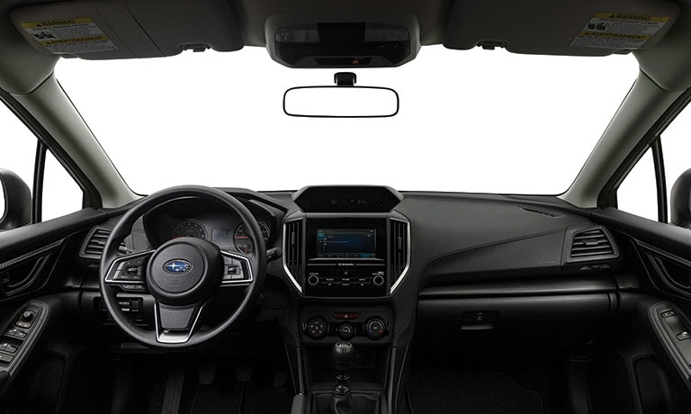 2019 Subaru Crosstrek 2.0i interior full dashboard view