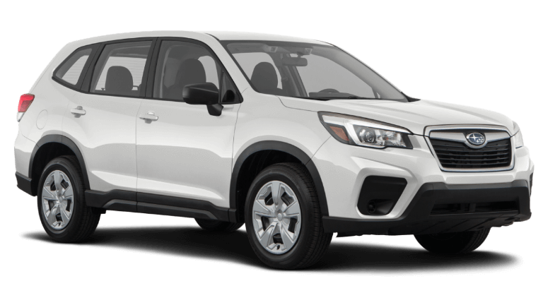 A white 2020 Subaru Forester Base