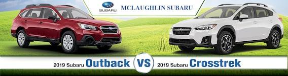 Crosstrek Vs Outback >> 2019 Subaru Outback Vs Crosstrek
