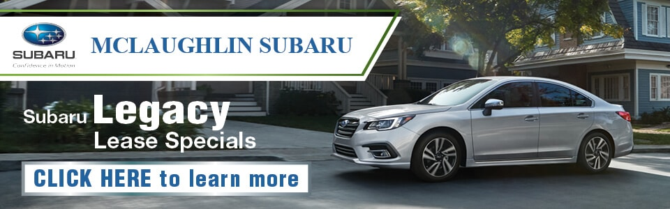 White 2019 Subaru Legacy lease offer