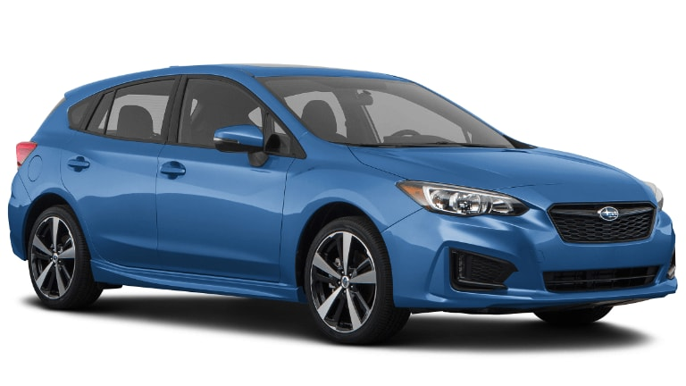 2020 Subaru Impreza Sport 5 door in light Blue