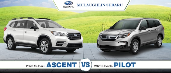 2020 Subaru Ascent Vs Honda Pilot