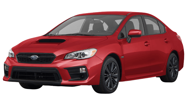 2020 WRX in red