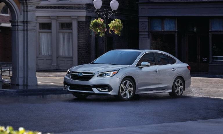 2020 Subaru legacy Parked in the street side view