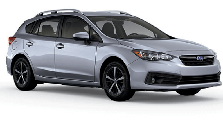 2020 Subaru Impreza Premium 5-door in gray
