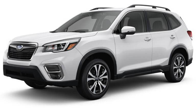 2020 Subaru Forester JellyBean Limited White