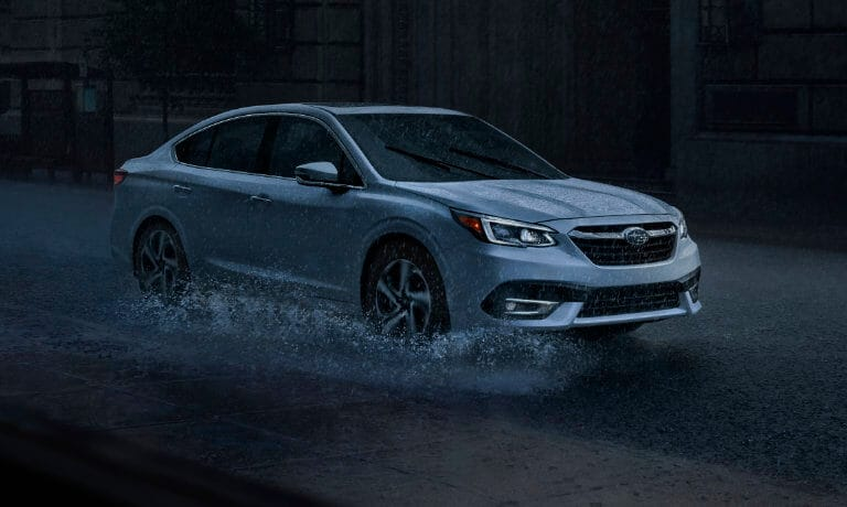 2020 Subaru legacy Driving In Rain