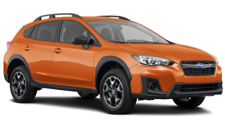 2019 Subaru Crosstreck in orange