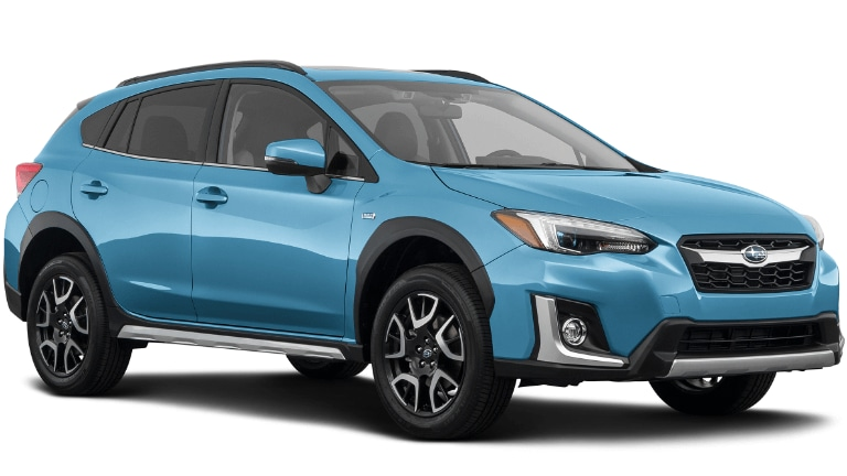 2020 Subaru Crosstrek Hybrid in blue