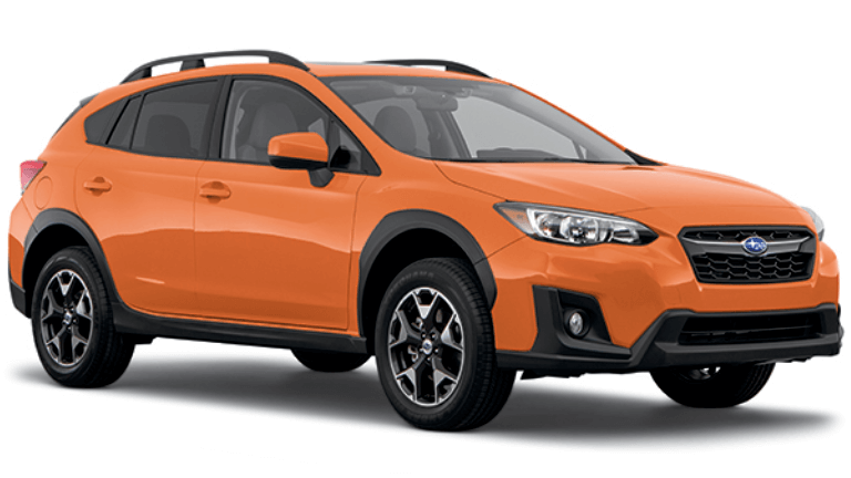 2020 Subaru Crosstrek  Premium in Orange