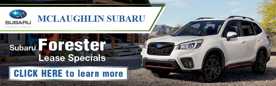 A lease deal for the Subaru Forester