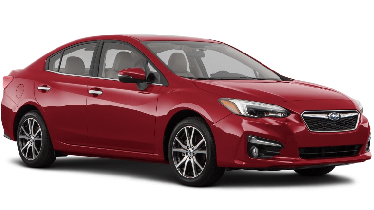 2020 Subaru Impreza Limited in Red