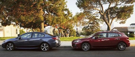 2019 Subaru Impreza Trims: 2 0i Premium vs  2 0i Sport vs