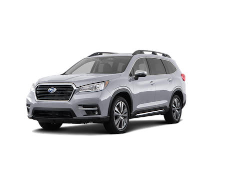 A silver 2019 Subaru Ascent Touring