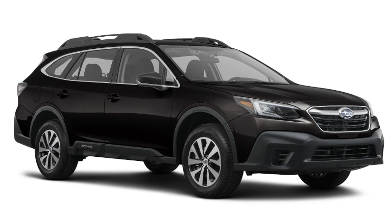 2020 Subaru Outback Base Model in black
